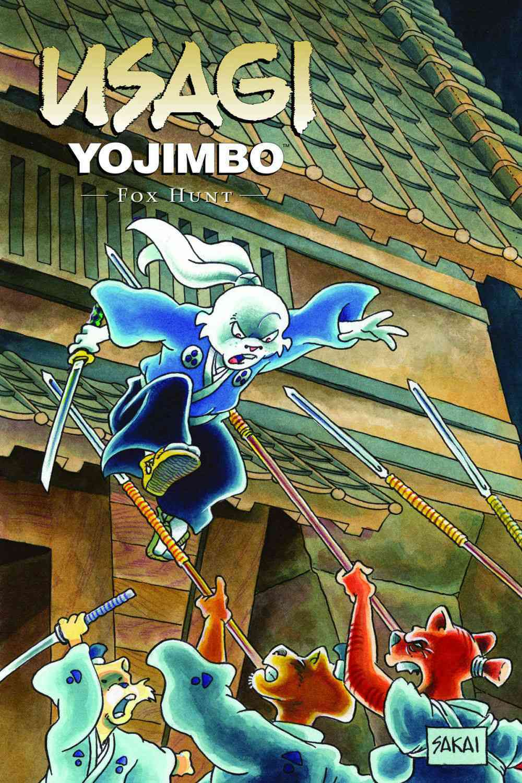Usagi Yojimbo 25: Fox Hunt (Paperback)
