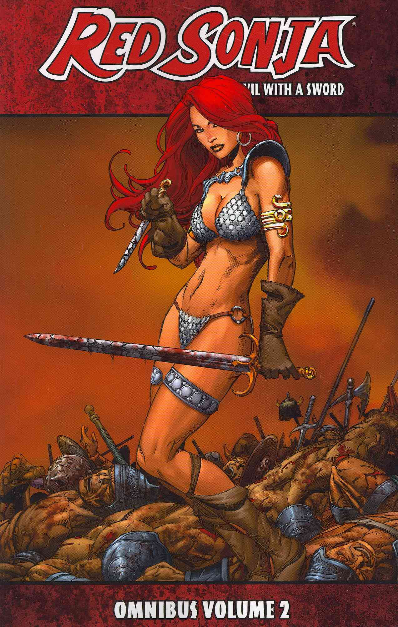 Red Sonja Omnibus 2: She-devil With a Sword (Paperback) - Thumbnail 0