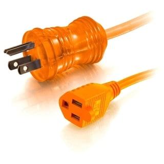 C2G 50ft 16AWG Hospital Grade Power Extension Cable (NEMA 5-15P to NE