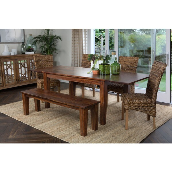 Kosas Home Alicia Dining Table w/ Extension 92-inch