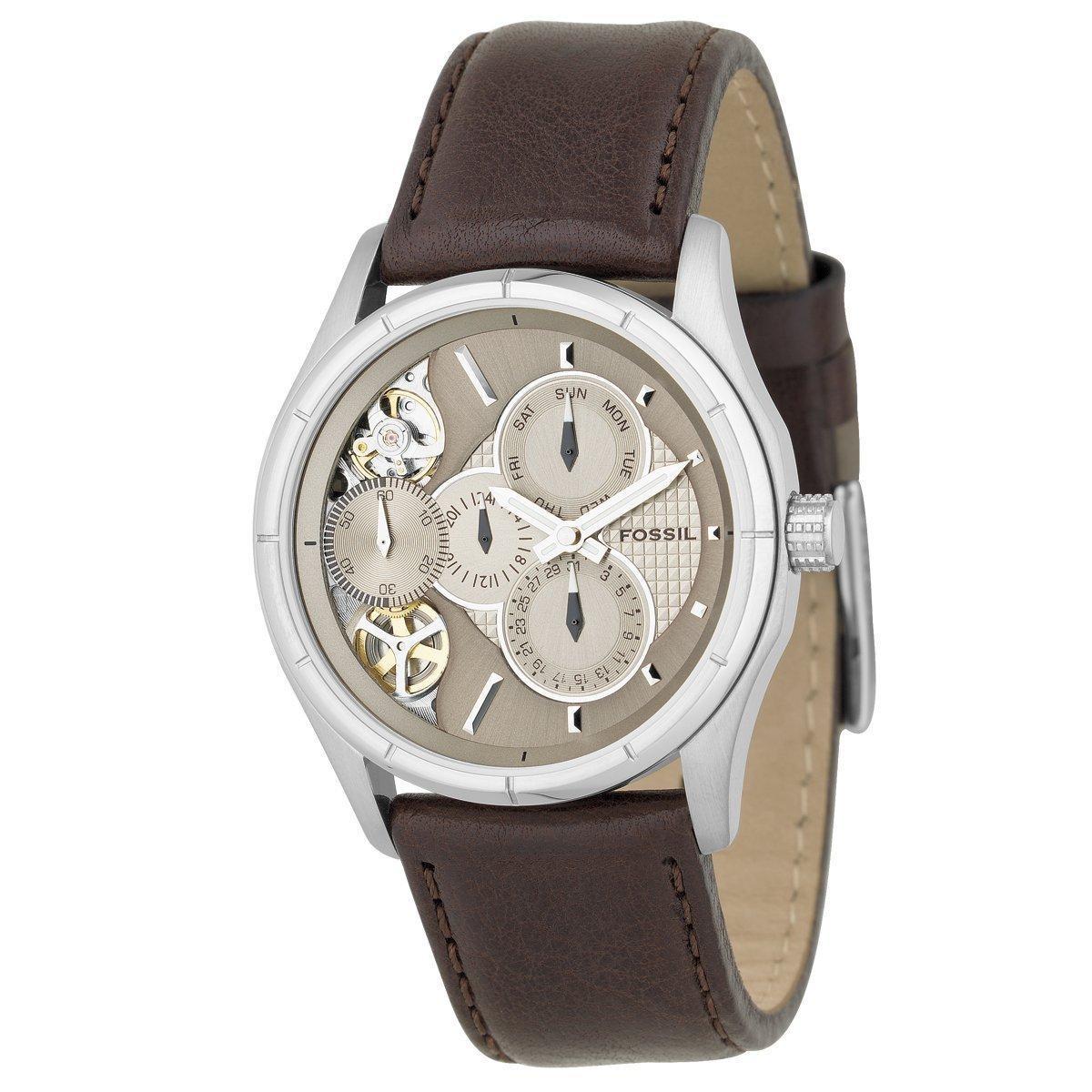 Fossil Men's ME1020 Stainless Steel Mechanical Twist Watch