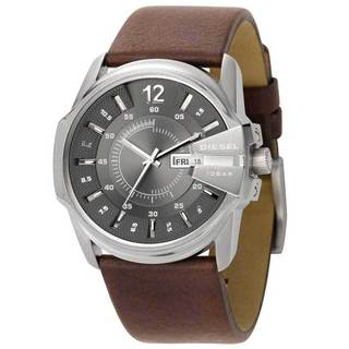 Diesel Men's DZ1206 Silver Dial Brown Leather Strap Watch|https://ak1.ostkcdn.com/images/products/5716293/P13453366.jpg?_ostk_perf_=percv&impolicy=medium