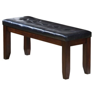 Rubberwood Cherry Finish Dining Bench