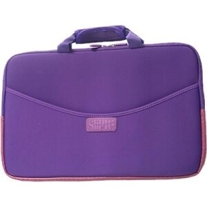 "Digital Treasures SlipIt! 07626 Carrying Case for 17"" Notebook - Purp"