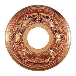 Copper Finish 11-inch Decorative Medallion