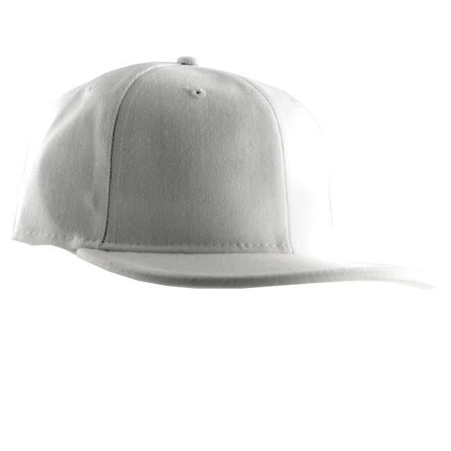 H2W Men's White Canvas Baseball Cap