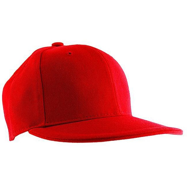H2W Men's Red Canvas Baseball Cap