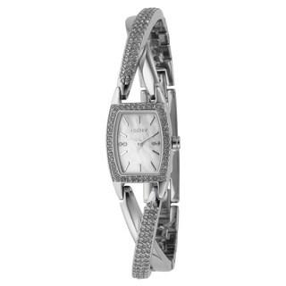 DKNY Women's NY4633 Classic Tonneau Silver-Tone Bracelet Watch