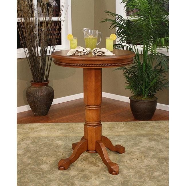 Avalon Chardonnay Wood Pub Table
