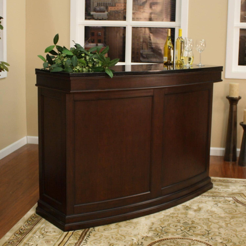 Lynn 58-inch Wood Home Bar