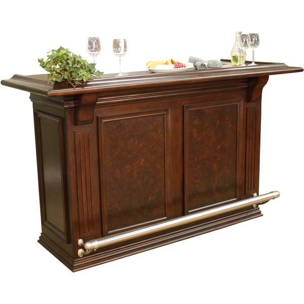 Willow 74 inch wood home bar free shipping today - Wooden home bars for sale ...