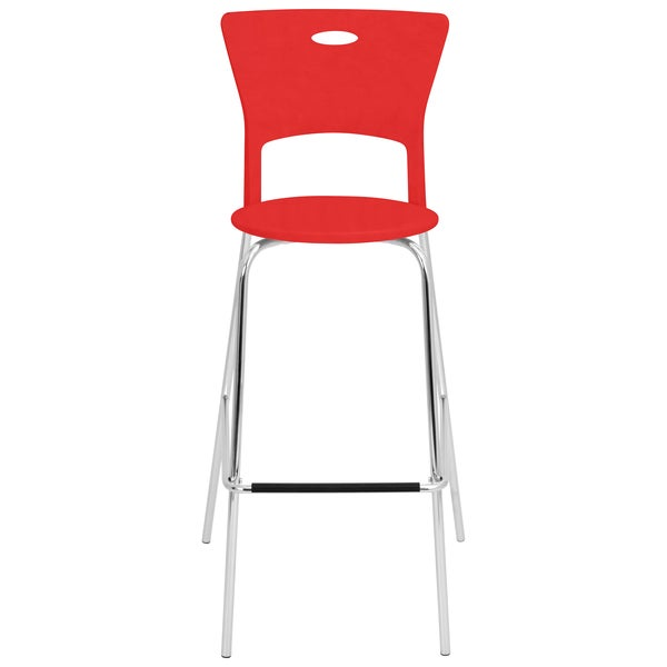 Red Stackable Modern Barstools Pack of 2 Free Shipping  : Red Stackable Modern Barstools Pack of 2 a6931167 b912 47b7 9653 71a87034bbc5600 from www.overstock.com size 600 x 600 jpeg 8kB