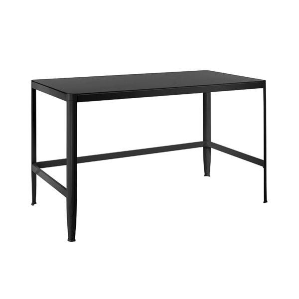 Black Retro Office Desk/ Drafting Table   Free Shipping Today    Overstock.com   13457483