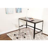 Black Retro Office Desk/ Drafting Table