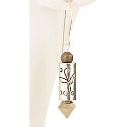 Sterling Silver 'Cupid's Arrow of Love' Earrings