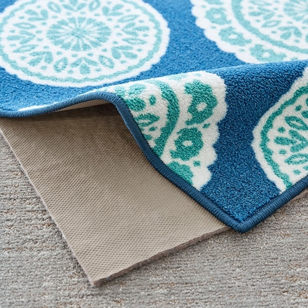 4/'x6/' 1//4 Inch Thick, Mohawk Home Dual Surface Felt and Latex Non Slip Rug Pad