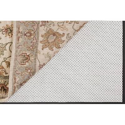 Luxurious Non-slip Rug Pad - White