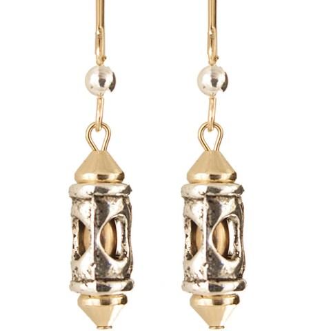 Romanesque' Gold Fill Earrings