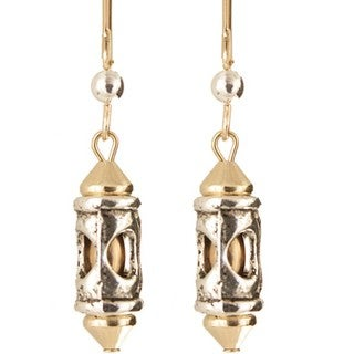 Romanesque' Gold Fill Earrings
