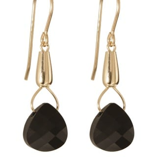 'Nights Tears of Celaeno' 14k Gold Fill Crystal Earrings