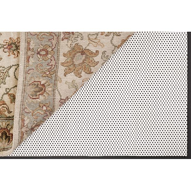 Luxurious Non-slip Rug Pad (8' x 10') - White - 8' x 10'/8' x 9'/8' X 11'