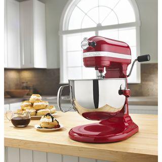 KitchenAid Empire Red 6-quart Pro 600 Stand Mixer (Refurbished)