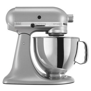 KitchenAid RRK150SL Silver 5-quart Artisan Tilt-Head Stand Mixer (Refurbished)