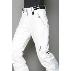 Marker Women's Gortex Farenheit Insulated White Snow Pants - Thumbnail 1