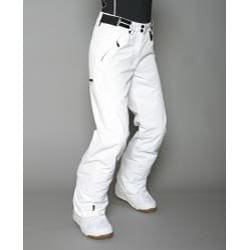 Marker Women's Gortex Farenheit Insulated White Snow Pants