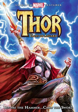 Thor: Tales of Asgard (DVD)