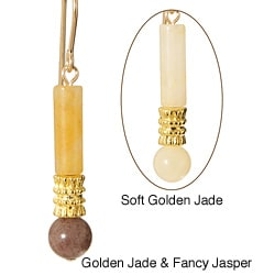 Angpetu Gold Fill Gemstone Earrings