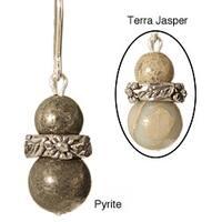 Sterling Silver 'Olathe' Gemstone Earrings