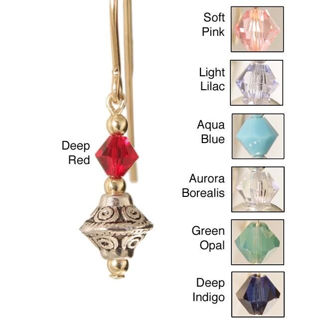 Gold Fill 14k 'Tehya' Crystal Earrings