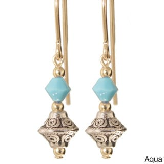 Gold Fill 14k 'Tehya' Crystal Earrings