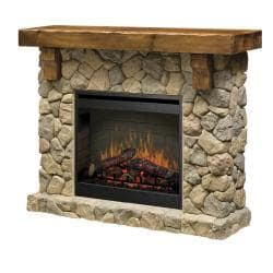 Dimplex SMP-904-ST Stone Look Electric Flame Fireplace - Thumbnail 1