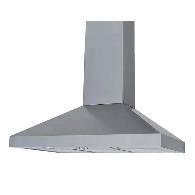 Stainless Steel 30-inch Body Wall Mount Range Hood - Thumbnail 0