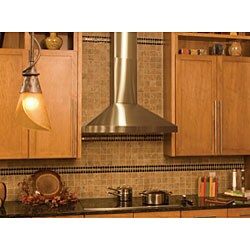 Stainless Steel 30-inch Body Wall Mount Range Hood - Thumbnail 2