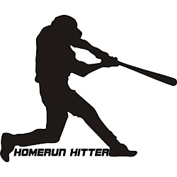 Design on Style Decorative 'Homerun hitter' Vinyl Wall Art Quote