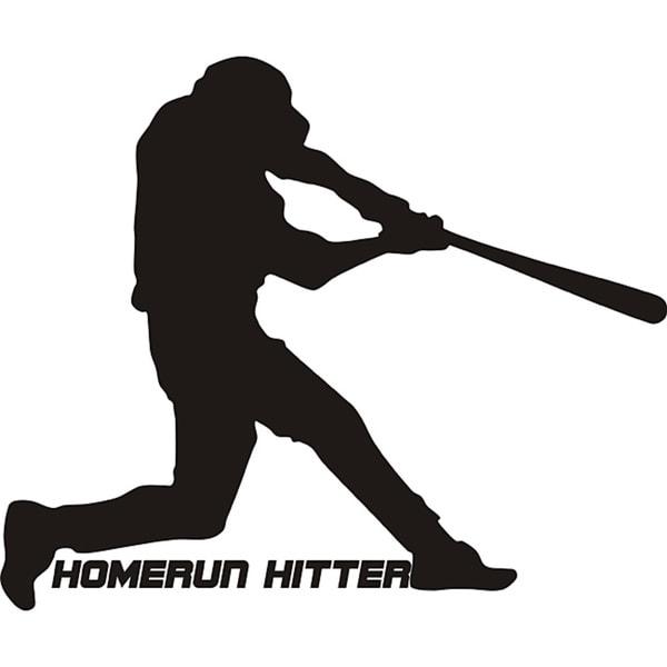 Design on Style Decorative 'Homerun hitter' Vinyl Wall Art Quote