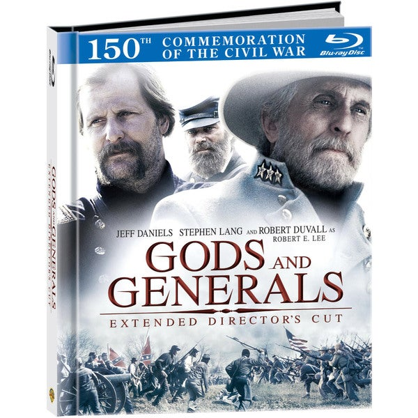 Gods and Generals: Extended Director's Cut DigiBook (Blu-ray Disc)
