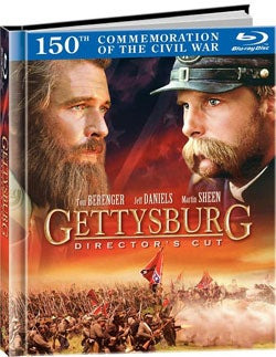 Gettysburg: Director's Cut DigiBook (Blu-ray Disc)