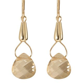 Gold Fill 14k Crystal 'Teardrops of Hecate' Earrings|https://ak1.ostkcdn.com/images/products/5725629/P13460848.jpg?impolicy=medium
