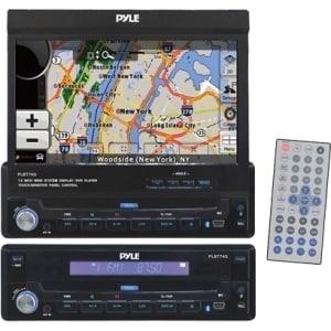 Pyle PLBT74G Automobile Audio/Video GPS Navigation System - Mountable