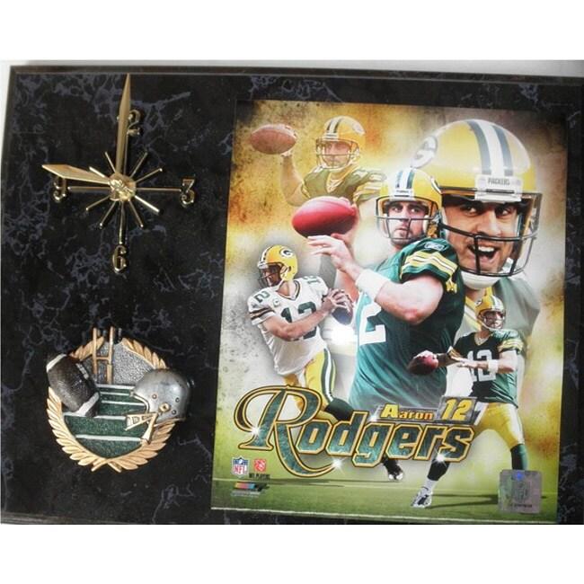 Arron Rodger Super Bowl XLV Clock