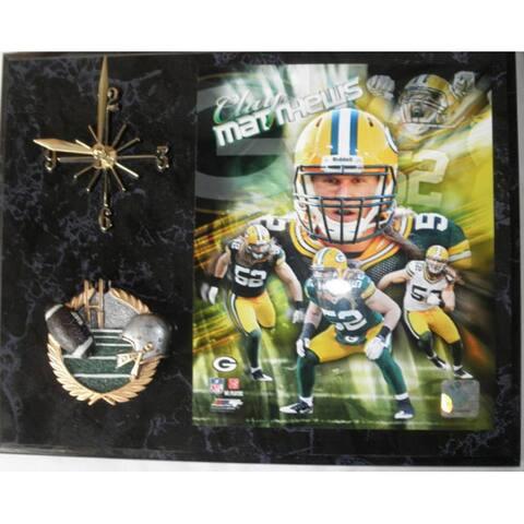 Clay Matthews Super Bowl XLV Clock