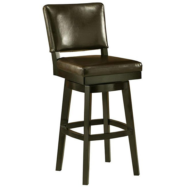 Shop Richfield 30 Inch Wood Swivel Bar Stool Free