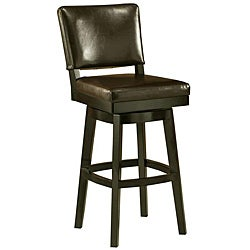 Richfield 30-inch Wood Swivel Bar Stool