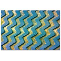 Patty Tuggle 'Zigzag' Canvas Art