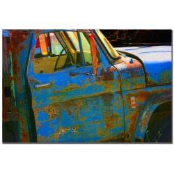 Patty Tuggle 'Old Truck III' Canvas Art