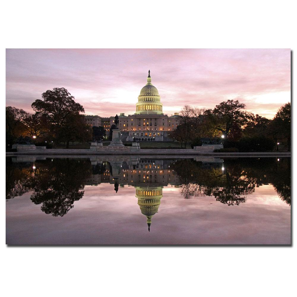 CATeyes 'Necessity of Reflection' Canvas Art